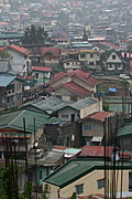 Community of Houses at the Lowlands of Baguio City, the Philippines