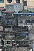 Multi-Storied Buildings in Baguio City, the Philippines