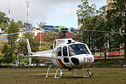 The Philippine National Police Helicopter
