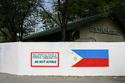 Sitio Pader Elementary School Wall in Memory of Reynaldo Areno