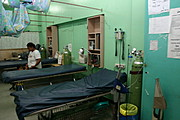 Emergency Room at Ospital ng Angeles (ONA), the Angeles City Hospital in the Philippines.