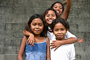 Aeta and Part Aeta Friends in Angeles City