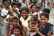 Happy Aetas Pampanga Smiling for the Camera