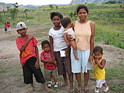 Residents of Aeta Village in Pampanga