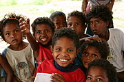 Group of Aeta Kids Asking for a Copy of Pictures