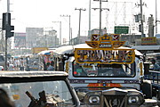 Congestion on Bacoor�s Main Road