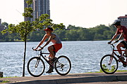 Bicycle Riders at Lake Calhoun