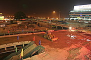 Construction on New Subway Station in Shenzhen, China
