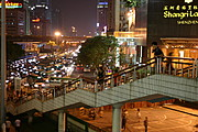 Pedestrian Overpass near the Shenzhen Shangri-La
