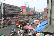 Divisoria Neighborhood in Manila, the Philippines