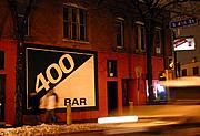 The 400 Bar, Cedar and Riverside, Minneapolis