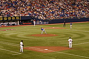 Minnesota Twins Versus the Texas Rangers, HHH Metrodome