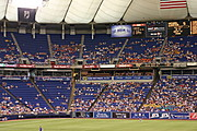 Seating at the HHH Metrodome