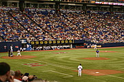 Twins Game at the Metrodome, Minneapolis
