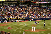Twins Game in the Metrodome, Minneapolis