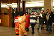 Protesters Opposed to Guantanamo Bay, Downtown Minneapolis