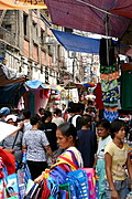 Market Lane in Divisoria Neighborhood, Metro Manila