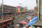 Overhead View of Divisoria, Manila