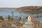 Stillwater Lift Bridge over the St. Croix River