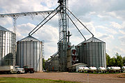Agriculture Silos, Rural Wisconsin