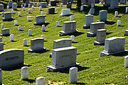 Field of Headstones at Arlington National Cemetery