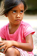 Pre-School Girl in the Philippines