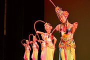 Chinese Sichuan Dance by RDFZ Students in St. Paul, Minnesota