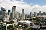 Makati Skyline in Manila, the Philippines