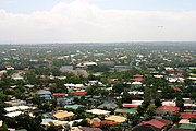 Aerial View of San Lorenzo Village, Manila, Philippines