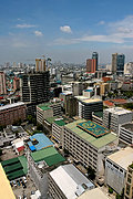 Manila Looking Northwest from Makati