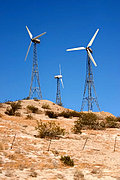 Three Wind Generators, California