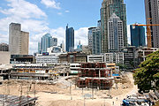 Development in Makati's Greenbelt Complex/Ayala Center