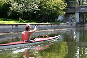 Kayak on Lake of the Isles, Minneapolis