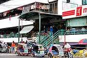 Exterior of the Laoag Public Market, Philippines