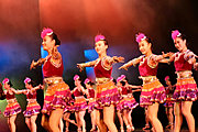 Girls from RFDZ High School Performing in Minnesota (for the Chinese New Year)