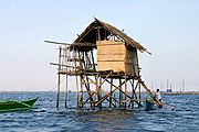 Stilt House in Manila Bay