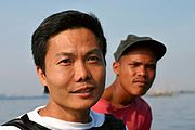 Filipino Men, Manila Bay