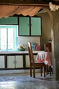 Kitchen in a Home in Ilocos Norte, the Philippines
