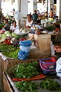Fresh Vegetables at the Badoc Public Market, Ilocos Norte
