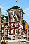 Historic Hotel in Downtown Kenora, Ontario, Canada