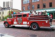 Fire Engine Ride on Main Street