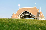 Lake Harriet Bandshell and Grassy Hill