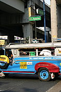 Jeepny on Chino Roces at Arnaiz Ave, Manila