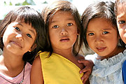 Young Girls/Friends in the Philippines