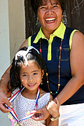 Mother and Daughter, Siteo Pader Elementary School