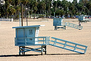 Lifeguard Houses, Santa Monica Beach