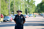 Police Officer, New Richmond Fun Fest Parade