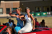 Beauty Queens, New Richmond Fun Fest Parade