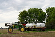 John Deere Fertilizer Sprayer