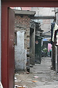 Entryway in Hutong Lane, Central Beijing